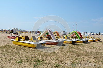 Beach And Colorful Boats - Download From Over 40 Million High Quality Stock Photos, Images, Vectors. Sign up for FREE today. Image: 59677458