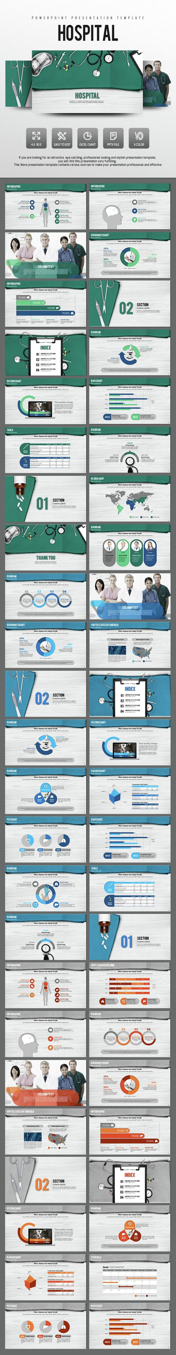Hospital Presentation Template (PowerPoint Templates)