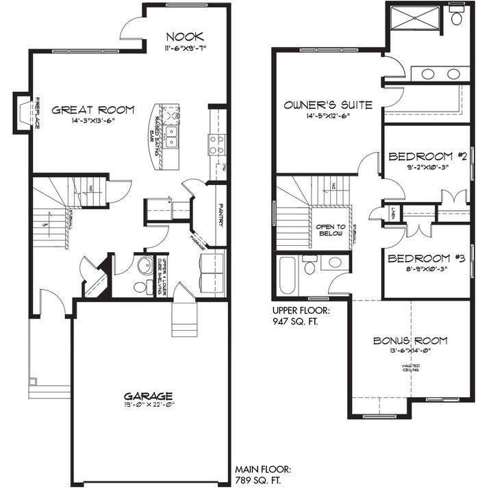 The Bentley floor plan from Pacesetter Homes