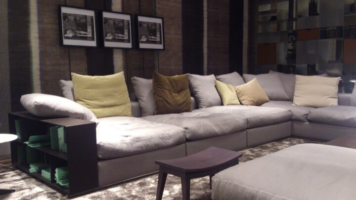 The Groundpiece From Flexform. Best Sofa Ever! | Canapu00e9 Groundpiece - Flexform | Pinterest ...