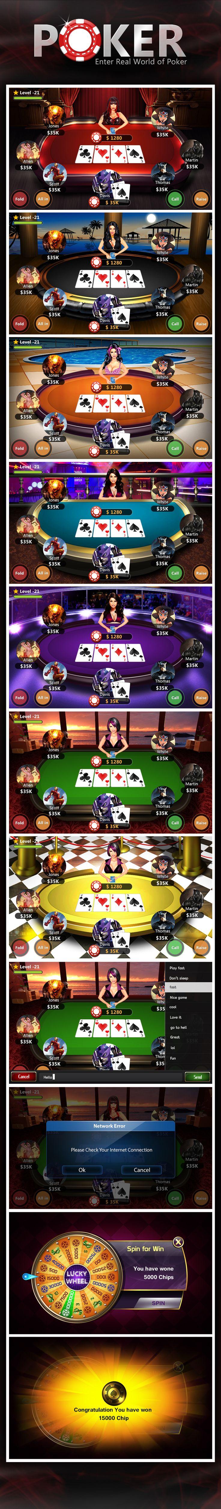 Poker on Behance