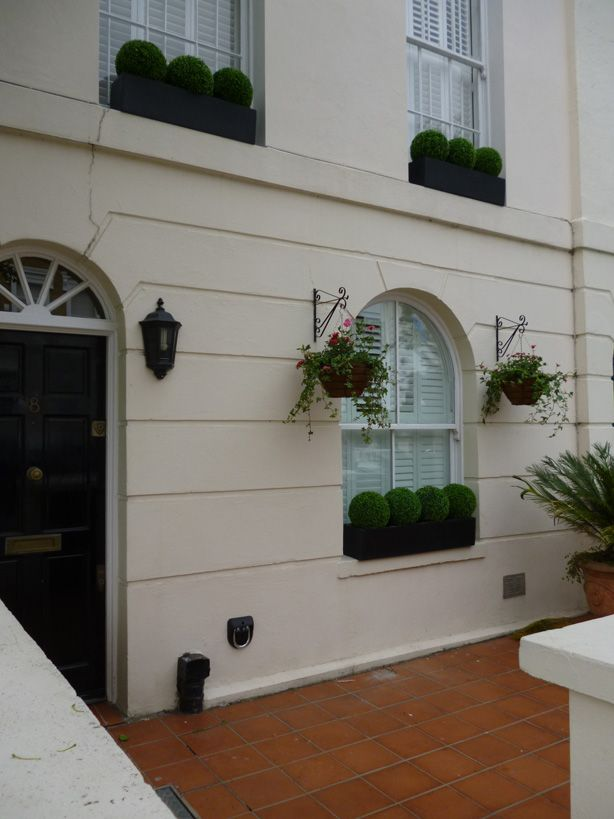 Low Maintenance window boxes