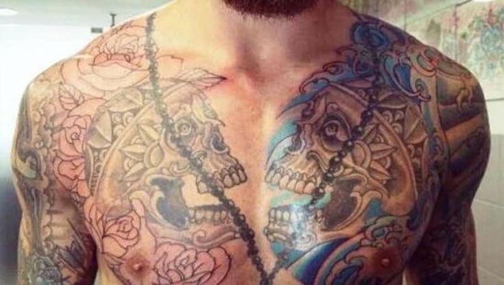 Tato Burung Hantu Di Dada Keren Gambar Burung Hantu Tato Keren Paling Gress Untuk Dada Pria Owl Tattoo Design Karena Bur Gambar Tato Tato Tato Lengan Bawah