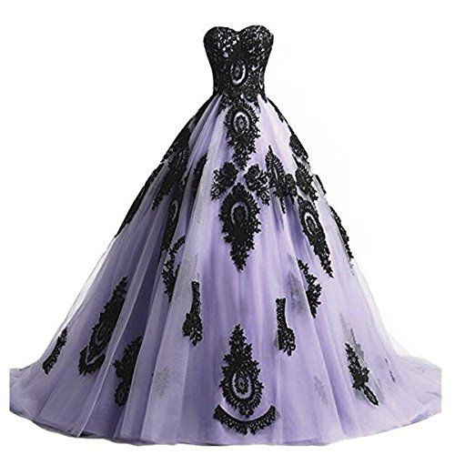 Hot Sale Sweetheart Corset Gothic Purple Wedding Dress: 1640 Best Halloween/Gothic Wedding Attire Images On