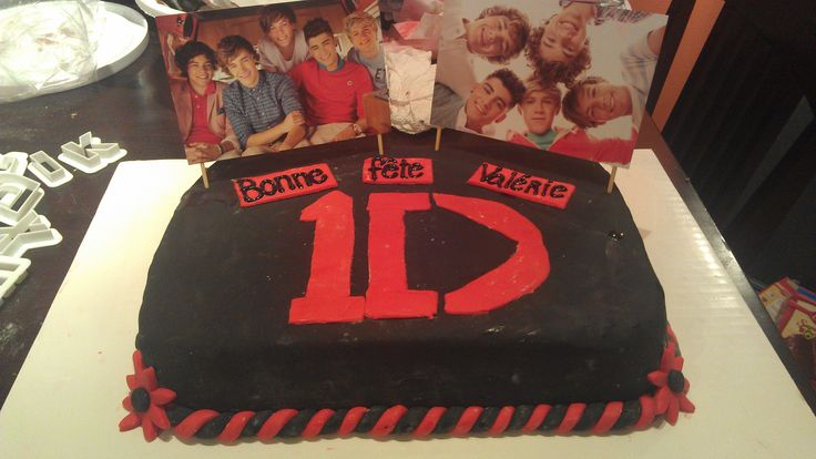 Gâteau One Direction