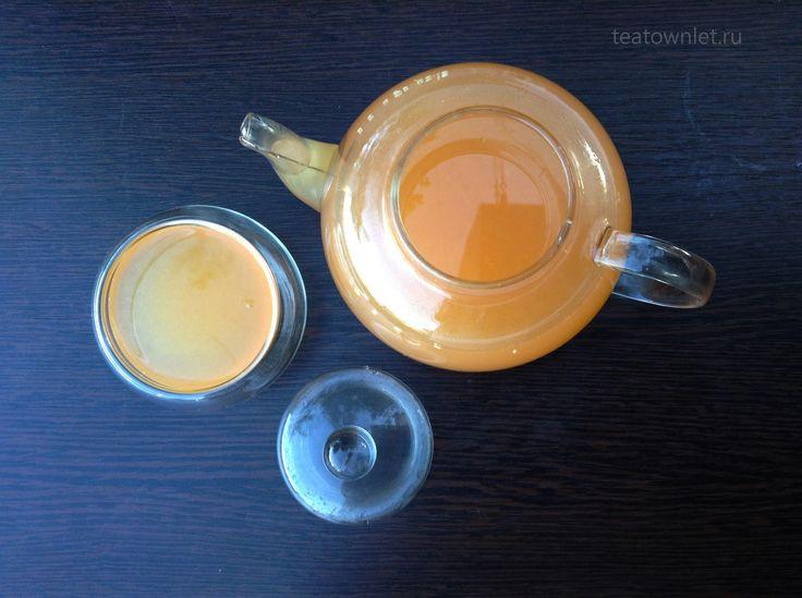 Согревающий имбирно-цитрусовый чай. Настоящая кладезь витаминов. #ЧайныйГородок  #Чай #Лимон #Цитрус