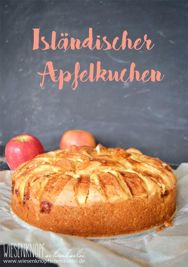 Wiesenknopfschreibselei: Isländischer Apfelkuchen - Klassíka eplakaka