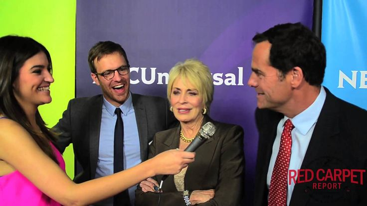 Sean Kleier, Joanna Cassidy & Andy Buckley at the NBC Winter #TCA2015 Find out more about Bravo's #OddMomOut? @SeanKleier & @joannavcassidy at the NBC Winter TCA Press Tour