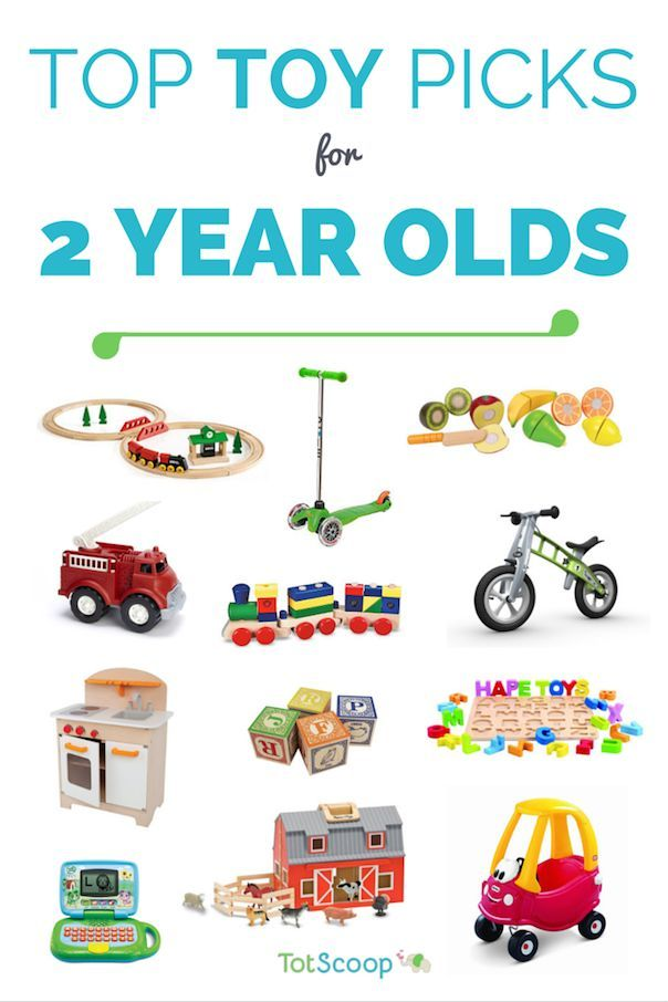 Here is an overview of our top toy categories for two year olds, with links to our top picks in each section: Blocks & building toys Trains & vehicles Puzzles Pretend play Musical & ele...