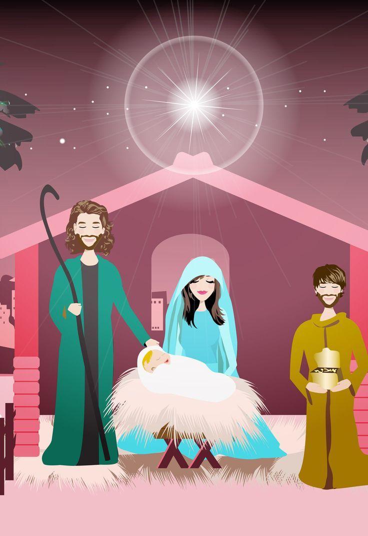 Nativity Scene SVG | Nativity Scene PNG Clip Art Printable ...