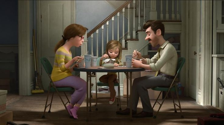 Inside Out (Pixar/Disney)