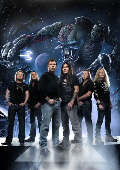 MAIDEN! MAIDEN! Wow, what a band, huh? Maiden is the FIRST metal band of my life. This band introduced me in the metal world. Still one of my favs.