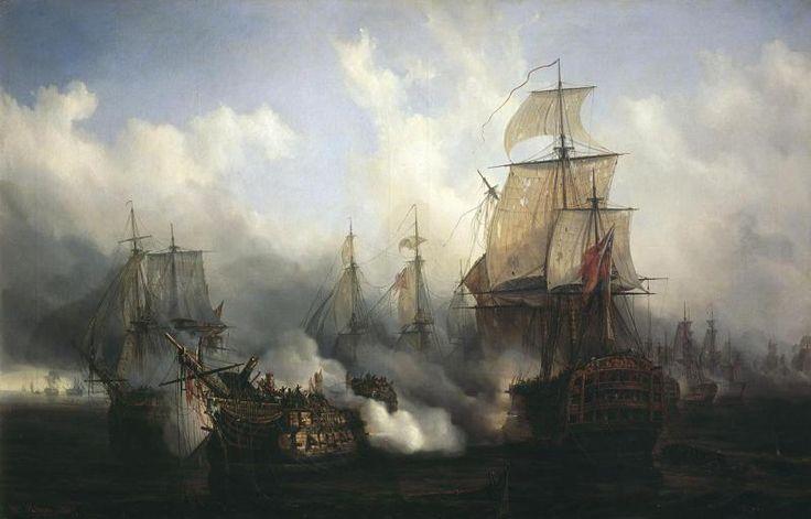 Peinture d'Auguste Mayer (1836).