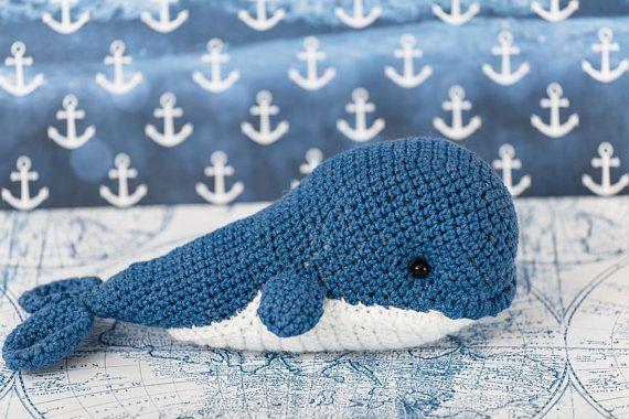 The #Crochet Whale #Toy is made by hand from ecological wool: White and Blue color. The Amigurumi Whale has a name that is given by the author. The Marine Whale Stuffed Anima... #etsy #crochet #animal #knit #toy #handmade #gift ➡️ https://www.etsy.com/kedrtoy/listing/544122133/blue-crochet-whale-toy-amigurumi-whale?utm_campaign=products&utm_content=fc94c044dbcb41cb886f0975f0f2ee55&utm_medium=pinterest&utm_source=sellertools