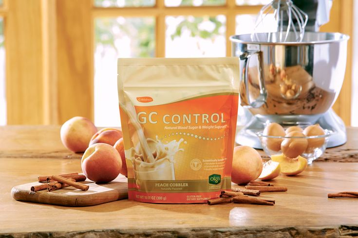 New Peach Cobbler GC Control™ Who says controlling carb and sugar cravings can't be a treat? Now you can enjoy the flavors of fresh peaches, sweet cream, and sugary soft crust—guilt-free and anytime you like. Melaleuca's exclusive Peach Cobbler GC Control is a delicious, clinically researched, low-glycemic shake designed to help you finally check those carb and sugar cravings and get a handle on healthy weight management