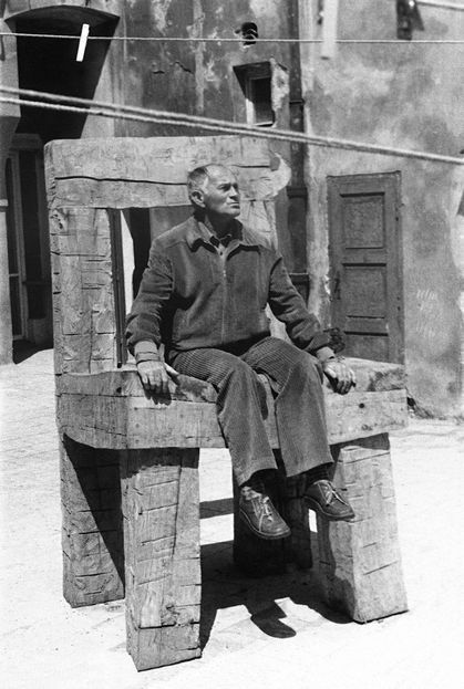 """mhsteger:  """" Bohumil Hrabal (born 28 March, 1914; died 3 February, 1997), pictured above in a photograph in the collection of the National Museum of Photography, Jindřichův Hradec (I wish I had more information about this photograph; alas, I do..."""