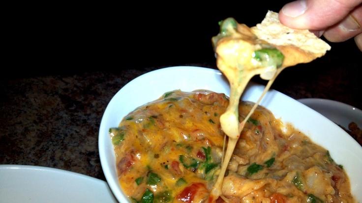 Skinny Queso Dip | Food | Pinterest