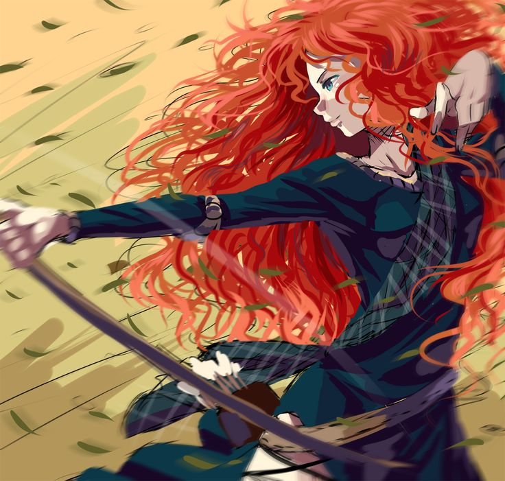 Sorry. I know Merida isn't Disney, but it's still really cool. <3