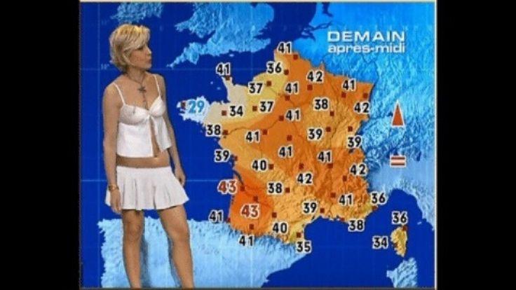 Météo chaude !!! Voila les vraies prévision météo,à l'inverse d'Evelyne DELIA !!