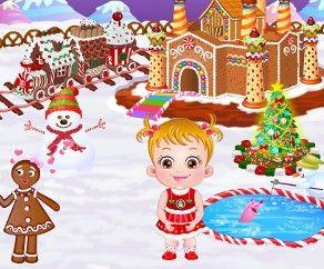 Baby Hazel la Casa de Pan de Jengibre, http://www.babyhazelworld.com/game/baby-hazel-gingerbread-house-es/