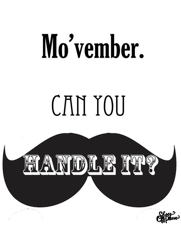 Free Movember Printable