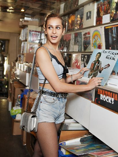 Alice Dellal: The New Face of Chanels Boy Bag