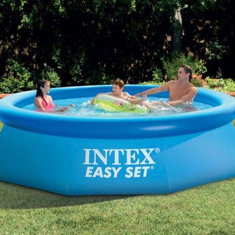 Piscine Intex Easy Set 305cm, rapide et facile à installer pour se rafraîchir en été !