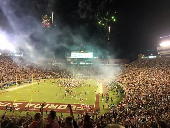 FSU VS MIAMI  2015