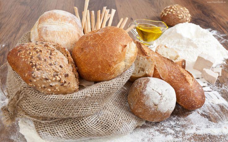 Bułki, Mąka, Drożdże