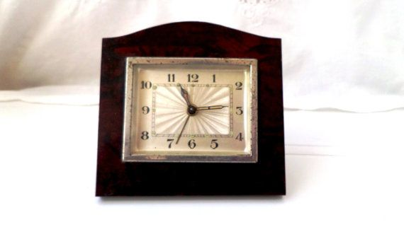 antique rustic alarm clock early 20th by VintageFindsFrance, 10% OFF !