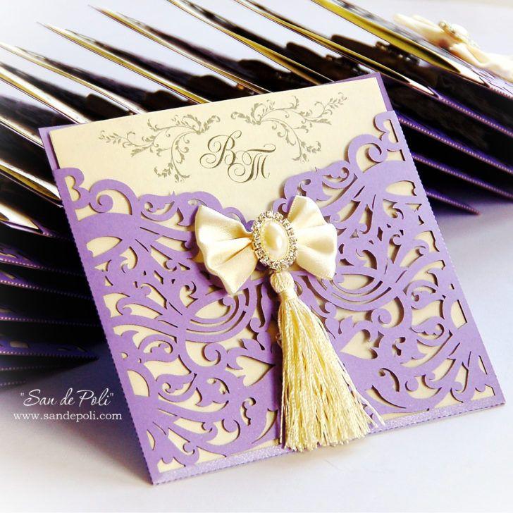 The 122 best Wedding Invitations images on Pinterest | Bridal ...