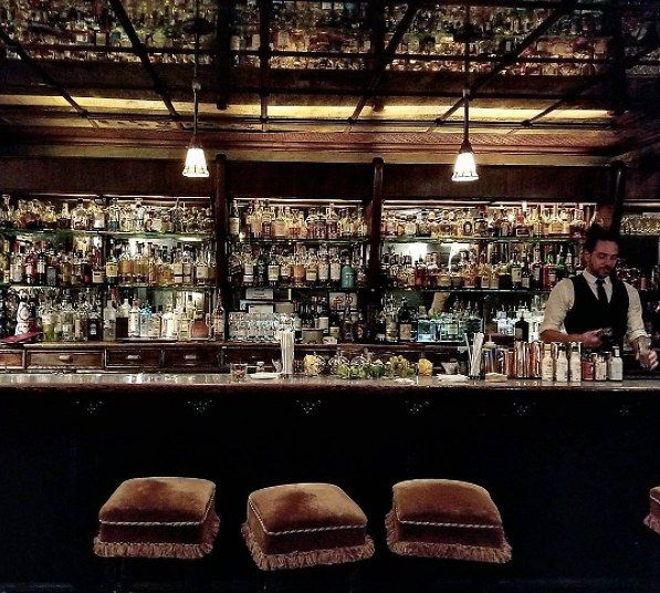 Read about The Lobby Bar at The Bowery Hotel, New York from Guest of a Guest on July 06, 2017