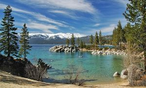 Groupon - Stay at Tahoe Chalet Inn in South Lake Tahoe, CA; Dates into December in South Lake Tahoe, CA. Groupon deal price: $79