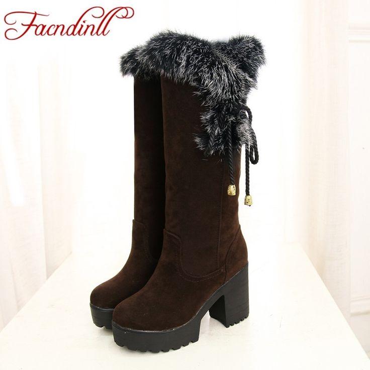 HEE GRAND Femme Fille Boots de Neige chaussure ... 8tMLZ