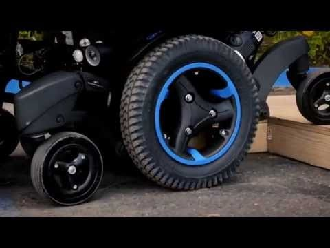 The QUICKIE QM7 Series electric power wheelchairs combine