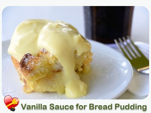 Vanilla Sauce for Bread Pudding - ILoveHawaiianFoodRecipes - very disappointing. I made this for my bread pudding, and followed the recipe exactly. It didn't thicken well and looks nothing like the picture. The taste was good, but I think I will try another recipe next time.