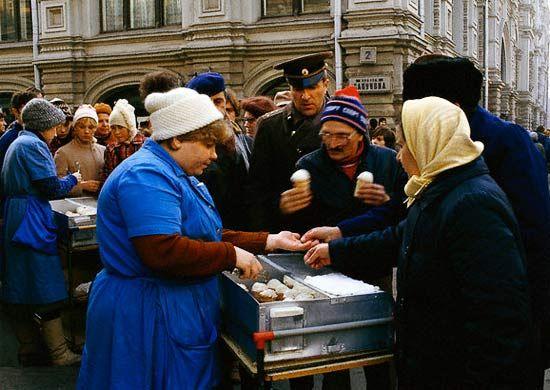 Ностальгия, советские фотографии о торговле (4)