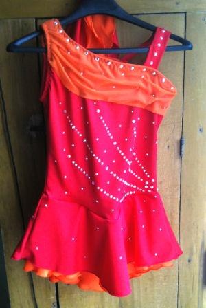 Custom Dress - pattinaggio