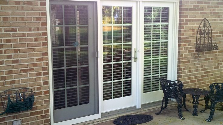 3 Panel Hinged Patio Door : Chicago il brighton panel hinged patio door