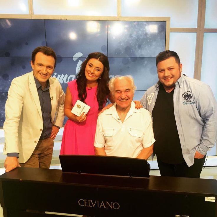 Eugen Doga - interviu TV Prima Ora.