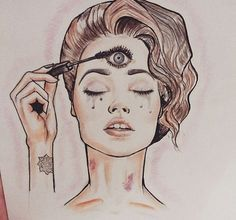 third eye chakra tattoo - Google Search