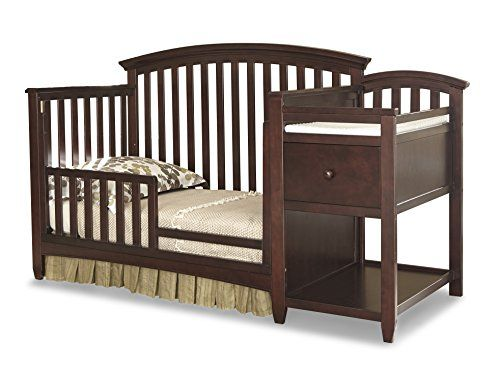 Charity The Montville Collection Toddler Guard Rail Converts Crib To A Bed