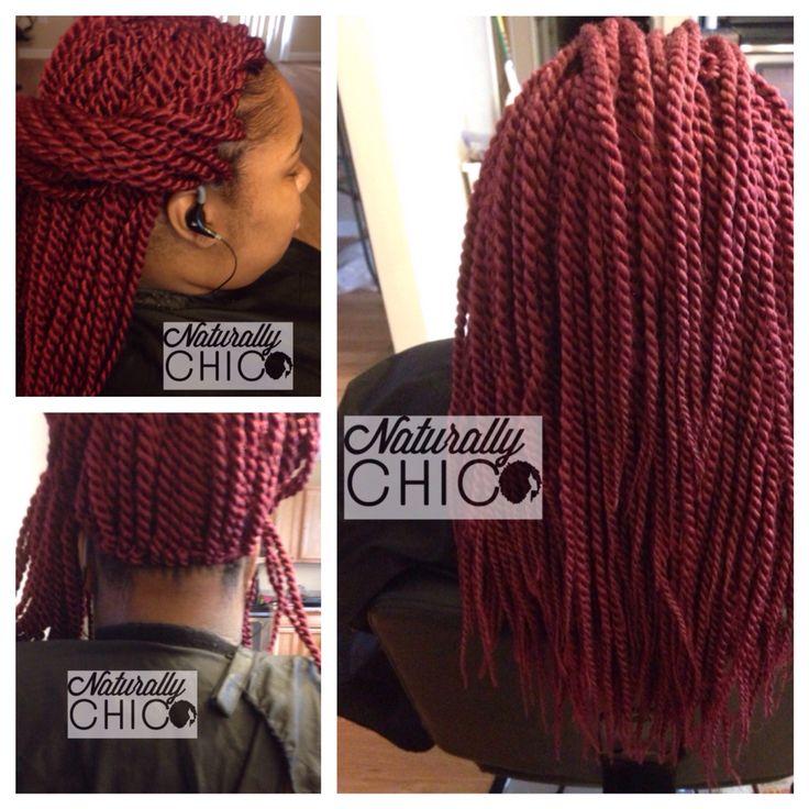 Crochet braids Senegalese twists by model model, color 530 ...