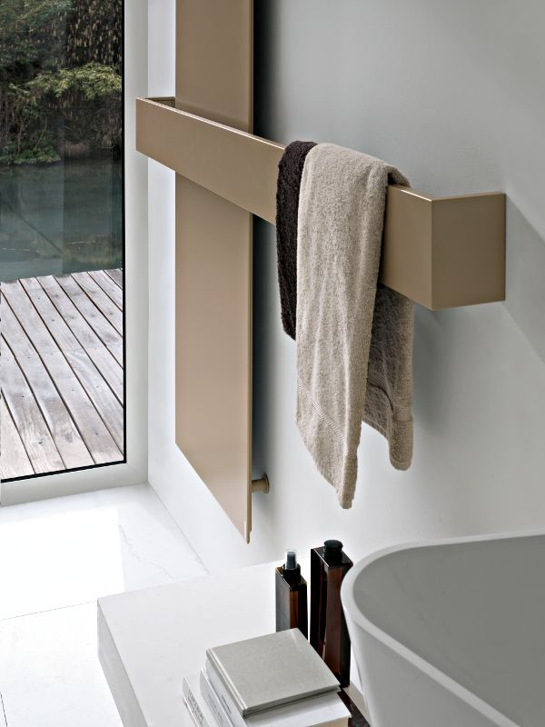 SQUARE #radiator designed for Tubes | #Palomba #design