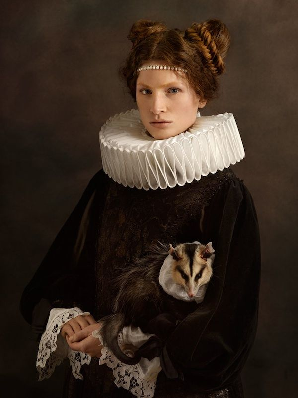 Beautiful Portraits Inspired by Rembrandt's Flemish Paintings - My Modern Metropolis