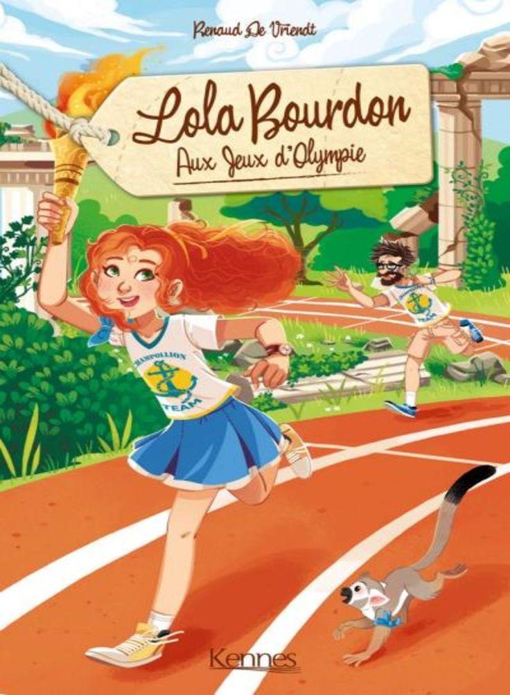 Couverture Aux jeux d'Olympie - Lola Bourdon, tome 2