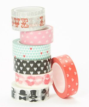 Love Love Washi Tape - Set of Seven