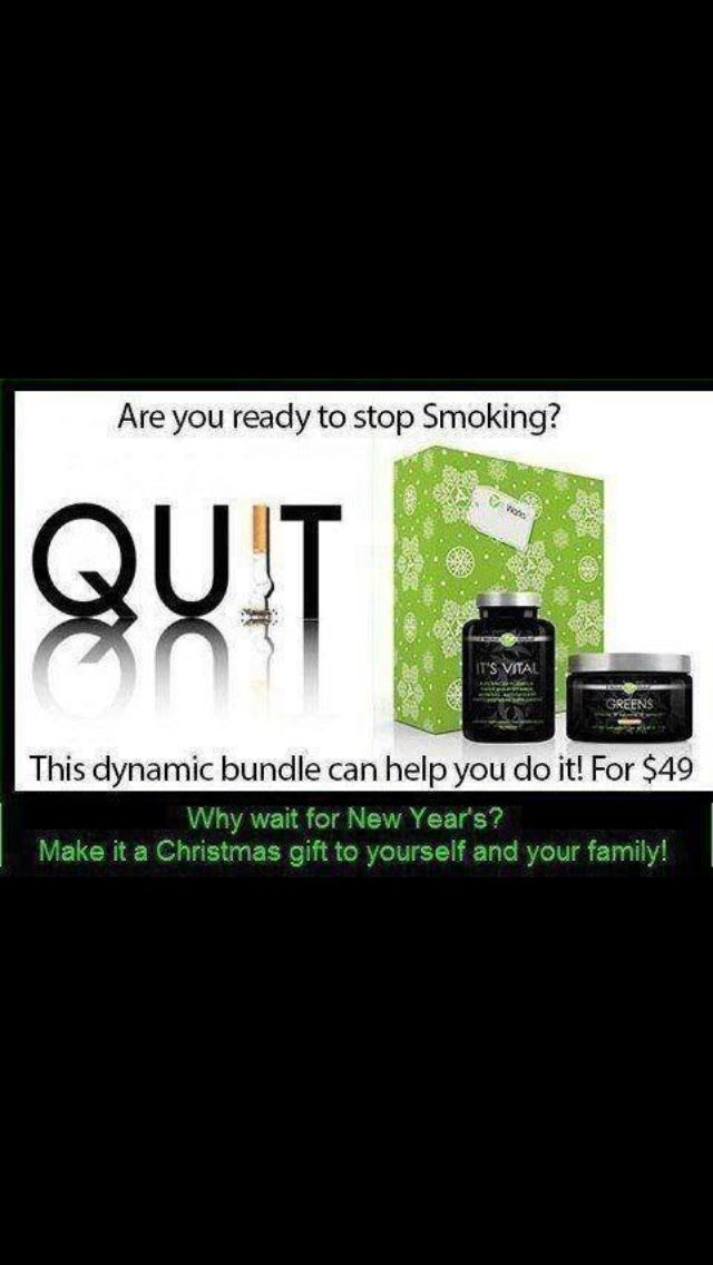 Quit Smoking with It Works ✔ it out ! http://tiffinyreynoldswrap.myitworks.com