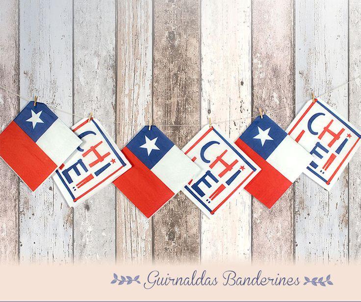 Tu toque en Fiestas Patrias con ELITE - Haz Banderines descubre cómo decorar tu mesa este 18 de septiembre.