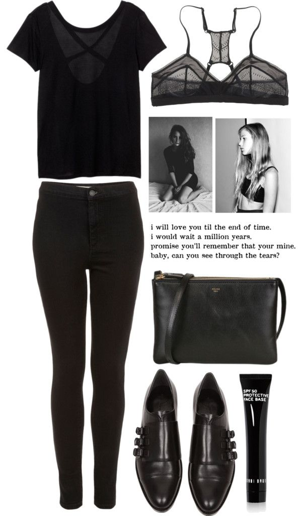 """Black is Black *group contest*"" by green-wild ❤ liked on Polyvore"